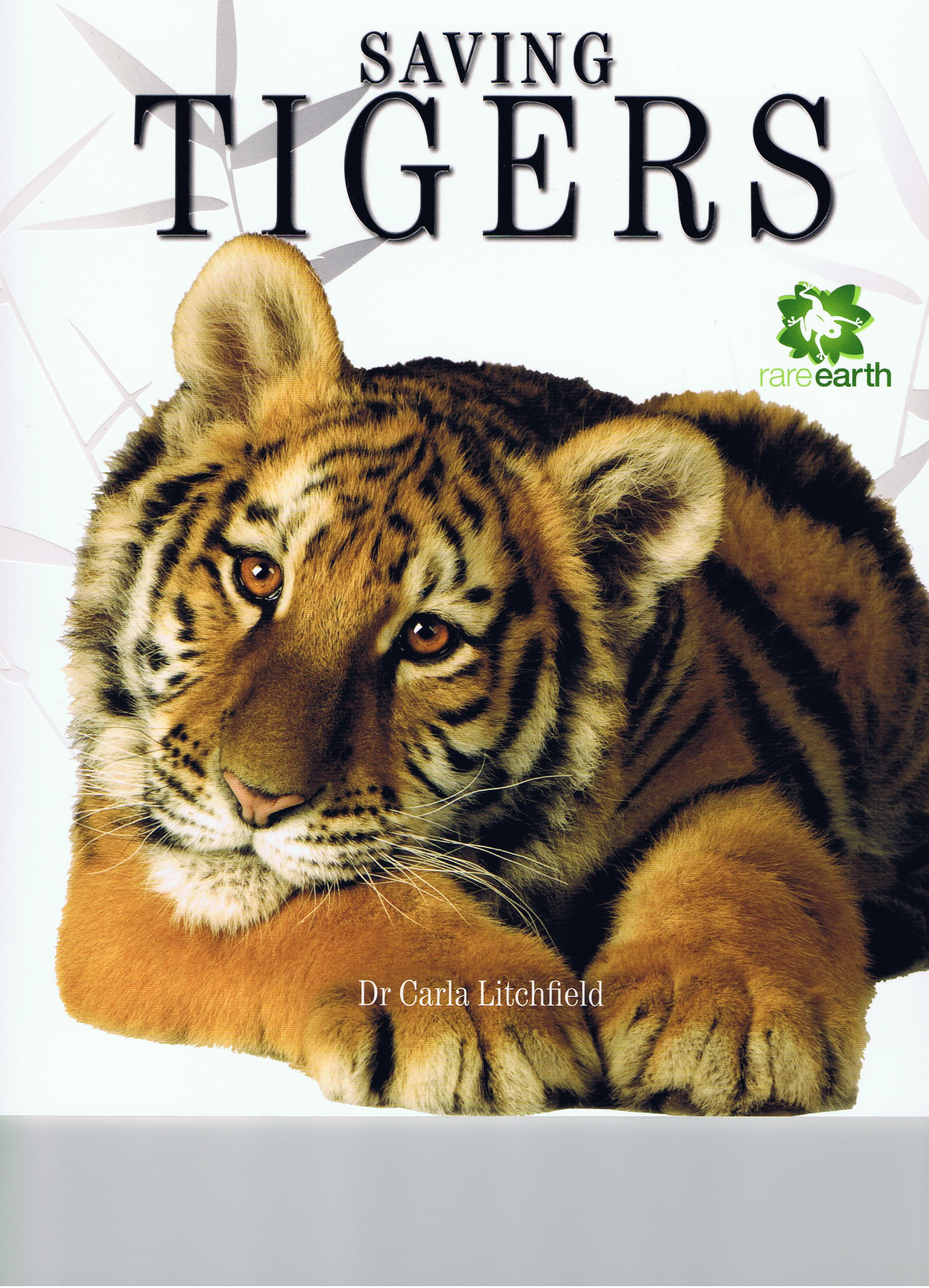 saving tigers bug in a book. Black Bedroom Furniture Sets. Home Design Ideas