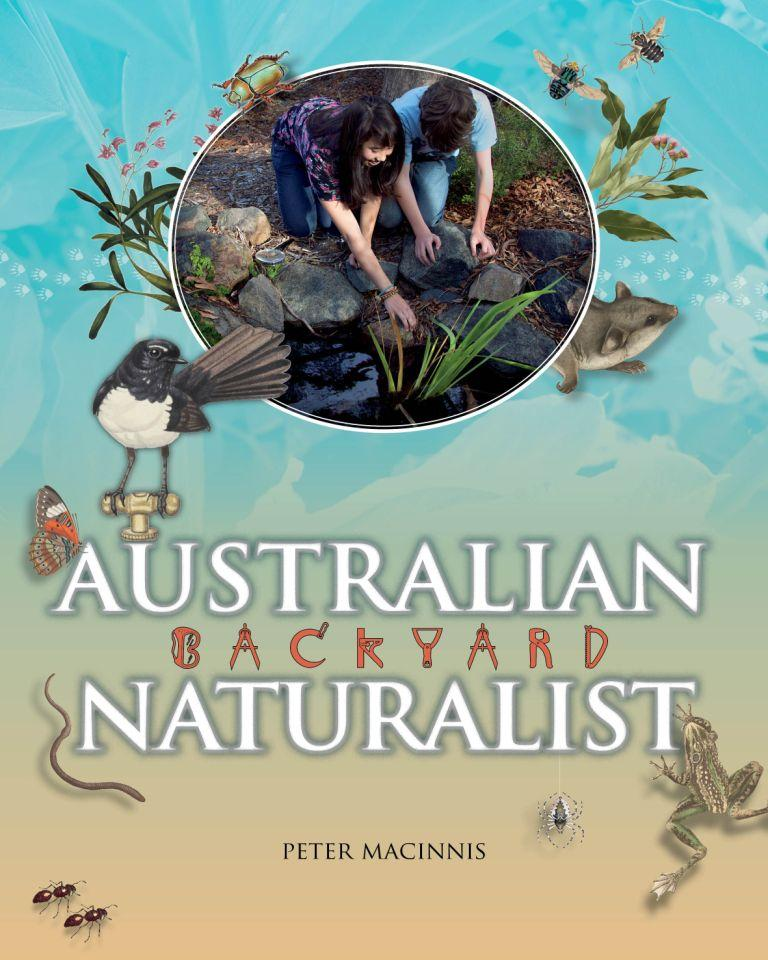 australian backyard naturalist bug in a book