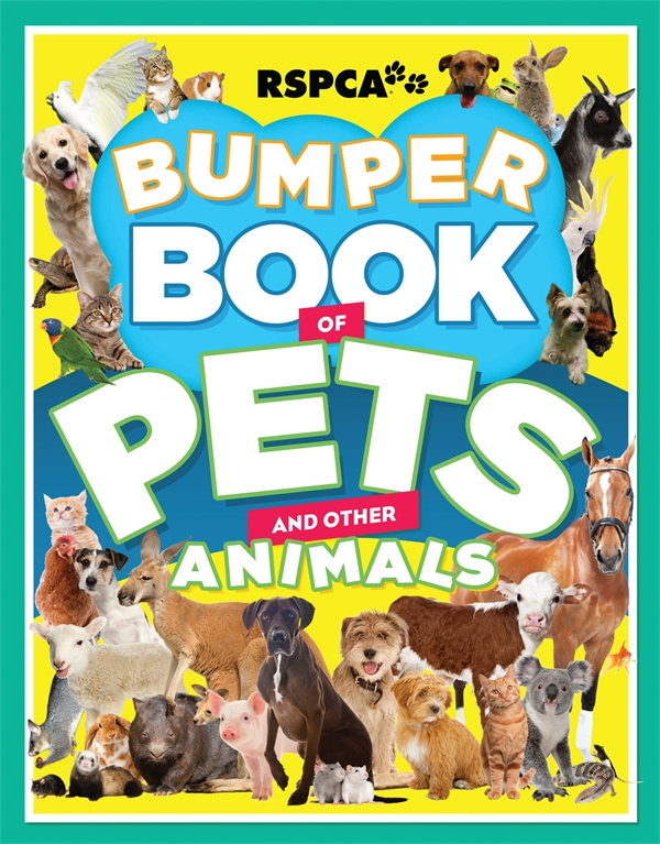 rspca bumper book of pets and other animals bug in a book