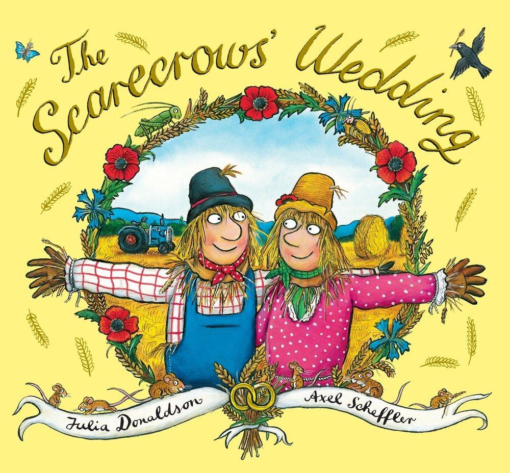 books julia donaldson cigar smoking scarecrows wedding
