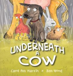underneath-a-cow